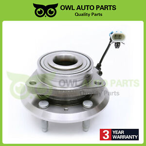 Front Wheel Hub Bearing For 2007 2009 Chevy Pontiac Equinox Torrent Xl 7 W Abs