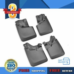 Mud Flaps Front And Rear 4pcs Set For 16 19 Toyota Tacoma W Oem Fender Flares