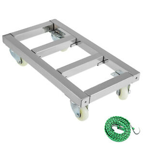 Furniture Dolly Mover Dolly 12x24 inch For Moving Equipment
