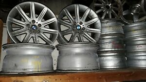 06 08 E65 E66 Bmw 740i 745i 750i 760i 19 Factory Silver Wheels Rims Set Offset
