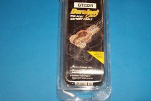 Duralast Gold Gt232b Top Post Battery Cable 2 Gauge 32 In Stranded Copper Core