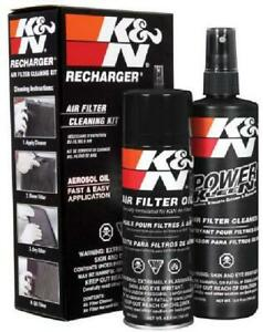 Air Filter Cleaner Service Kit With Spray Oil Cleaner Aerosol Recharger 6 5 Oz
