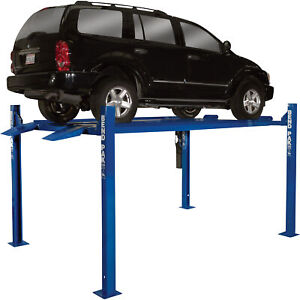 Bendpak Compact 4 post Car Lift 7000 lb Capacity Model Hd 7p