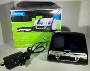 Dymo Label Writer 450 Twin Turbo Label Printer Pre Owned 1 Roll Of Labels
