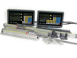 2 3axis Dro Digital Readout For Milling Lathe Machine Linear Glass Scales