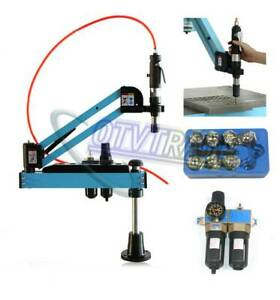 M3 m12 Universal Flexible Arm Pneumatic Tapping Machine Multi direction Tapping