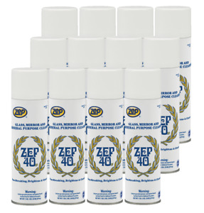 Zep 40 Lv Non streaking Cleaner Aero 322901 case Of 12 Available For All States