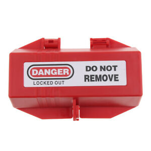 Electrical Large Plug Lockout Tagout Boxes Lock Device Safety Loto Tool