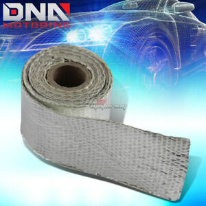 5ft 60 l 2 w Exhaust Header Turbo Manifold Pipe Aluminum Heat Shield Wrap Tape