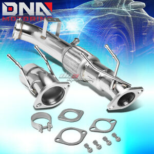 For 13 17 Ford Focus St 2 0l 3 2 5 Outlet 2 bolt Downpipe Booster Kit bungs