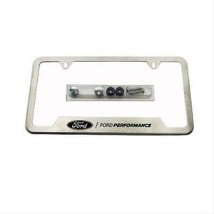 Ford Performance Parts License Plate Frame M 1828 Ss304c