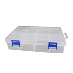 Component Box Pp Electronic Component Containers Storage Tool Boxes Case Clear