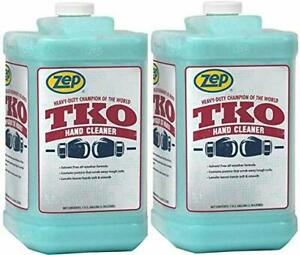 Zep Tko Hand Cleaner Heavy duty 1 Gallon pack Of 2 R54824 Pro Trusted
