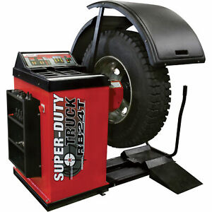 Bendpak Super duty Truck Wheel Balancer With Drive Check Rb 24t