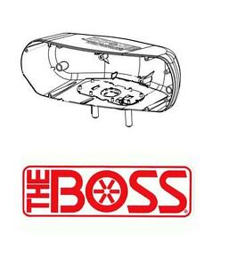 Boss Snow Plow Head Light Housing Driver Side 2002 2007 Models Msc04737 New Oem