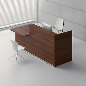 Tera 89 Reception Desk With Counter Top