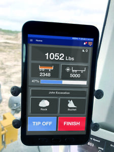 Front End Loader Scale Weigh System