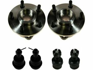 For 1987 1989 Jeep Wrangler Wheel Hub And Ball Joint Kit 77666ty 1988 4wd