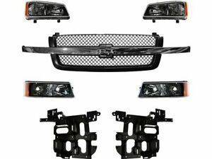 For 2003 2006 Chevrolet Silverado 1500 Grille And Headlight Kit 38561qt 2004