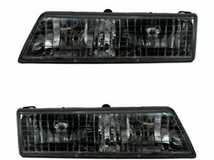 For 1995 1997 Mercury Grand Marquis Headlight Assembly Set 73116kh 1996