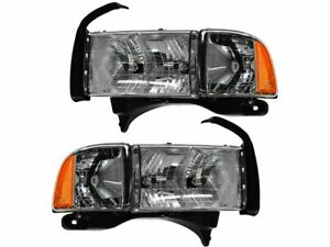 For 1999 2001 Dodge Ram 1500 Headlight Assembly Set 58976dz 2000 Sport