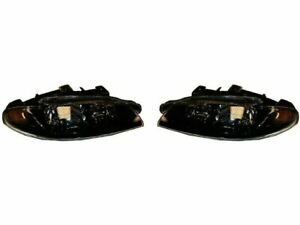 For 1997 1999 Mitsubishi Eclipse Headlight Assembly Set 46323nd 1998