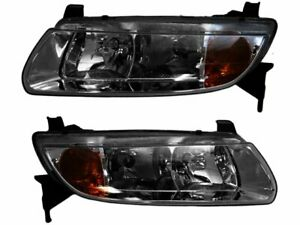 For 2001 2002 Saturn L300 Headlight Assembly Set 85556ws Headlight Assembly