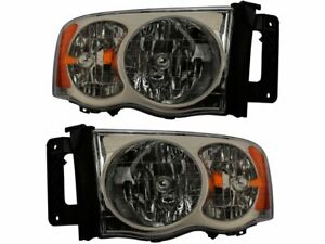 For 2003 2005 Dodge Ram 2500 Headlight Assembly Set 93634jj 2004