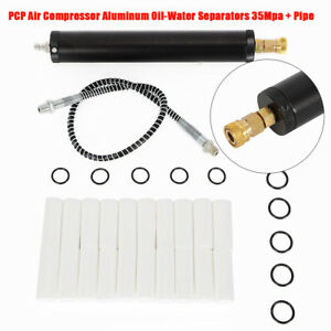 Pcp Compressor Oil Water Separator High Pressure Air Pump Filter 35mpa With Pipe