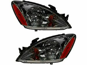For 2004 2007 Mitsubishi Lancer Headlight Assembly Set 75797cy 2006 2005