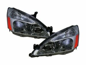 For 2003 2007 Honda Accord Headlight Assembly Set 38231pq 2004 2005 2006