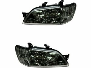 For 2002 2003 Mitsubishi Lancer Headlight Assembly Set Diy Solutions 49966cj