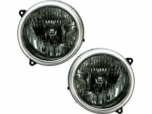 For 2002 2004 Jeep Liberty Headlight Assembly Set 31314mx 2003