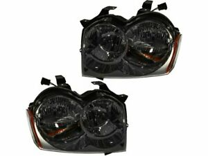 For 2005 2007 Jeep Grand Cherokee Headlight Assembly Set 99254vy 2006