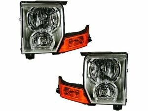 For 2006 2010 Jeep Commander Headlight Assembly Set 78627dr 2007 2008 2009