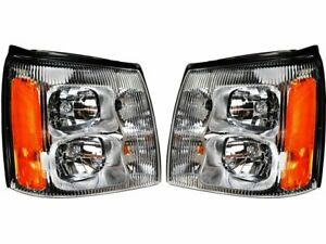 For 2002 Cadillac Escalade Ext Headlight Assembly Set 44618dr Headlight Assembly