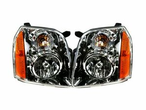 For 2007 2014 Gmc Yukon Headlight Assembly Set 68214ky 2008 2009 2010 2011 2012