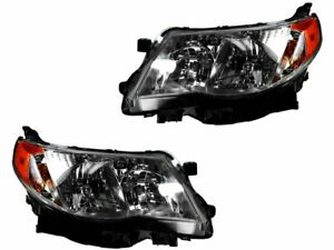 For 2009 2013 Subaru Forester Headlight Assembly Set 22771cr 2010 2011 2012