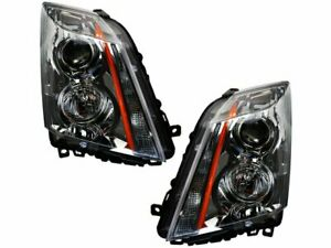 For 2008 2014 Cadillac Cts Headlight Assembly Set 14847qp 2012 2009 2010 2011