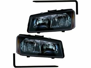 For 2003 2006 Chevrolet Silverado 2500 Hd Headlight Assembly Set 45587tf 2004