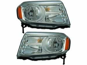 For 2012 2015 Honda Pilot Headlight Assembly Set 41315hq 2013 2014
