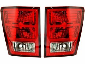 For 2007 2010 Jeep Grand Cherokee Tail Light Assembly Set 26451xv 2008 2009