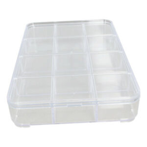 Component Box Pp Electronic Terminal Small Tool Containers Storage Case Clear