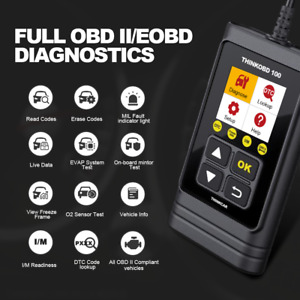 Thinkobd100 Car Auto Obd2 Eobd Diagnostic Scanner Tool Automotive Code Read New