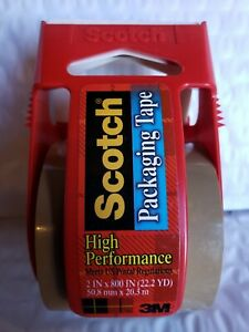 Scotch Packaging Tape High Performance Meets Us Postal Regulations pack Of 15