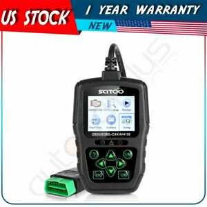 18v Battery Car Scanner Diagnostic Code Reader Obd2 Obdii Eobd Tool Kwp2000