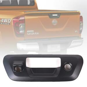 Rear Tailgate Handle Cover Camera Key Hole For Nissan Navara Np300 D23 2014 2019