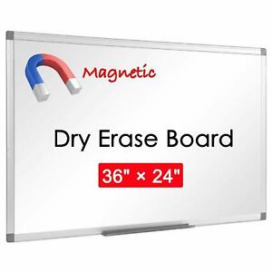 36 X 24 Dry Erase Magnetic Flexible Blank Honeycomb Core White Board