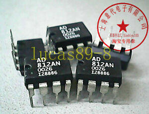 10pcs Ad812a Ad812an Ad812arz Sop 8 Dual Current Feedback Low Power Op Amp