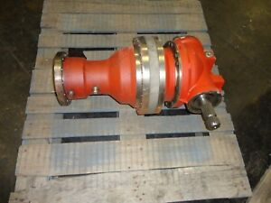 Reggiana Riduttori Rr1680a2v1fl Rt13 50 Planetary Gearbox Auger Drive Feed Mixer